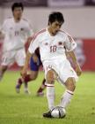 图文:中国2-0哥斯达黎加 郑智主罚点球命中