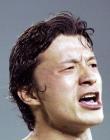 图文:中国2-0哥斯达黎加 谢晖进球后怒吼庆祝