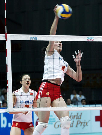 女排大奖赛北仑站:中国队轻取泰国 赢得开门红