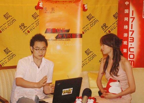 林志玲做客搜狐明星在线聊天实录