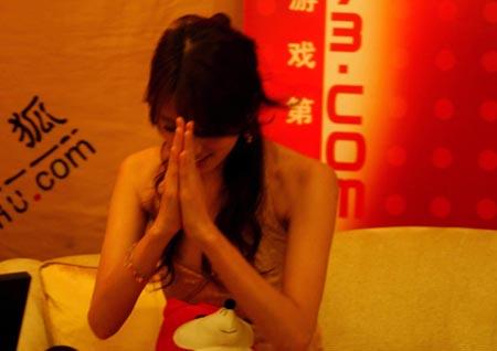 台湾第一美女 凭借模特的身材