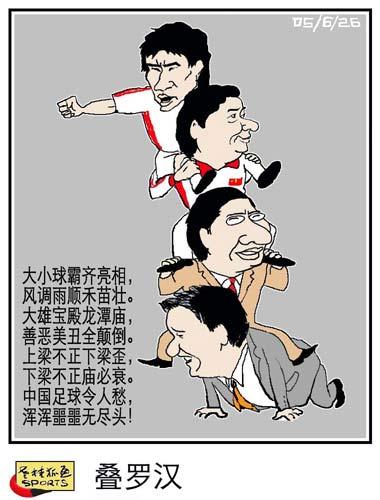 老桂狐画SPORTS:叠罗汉