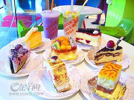"""皇后饼店_皇后饼店芝士蛋糕""""软硬""""兼施-搜狐广东站"""