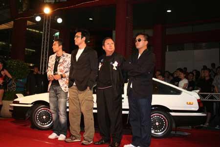 图文:《头文字D》台北首映会的照片