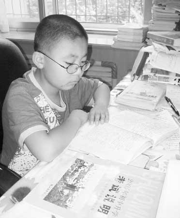 辽宁11岁中学考男孩9周岁自学完高中课程(图可以考高中生n3图片