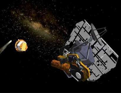 """""""深度撞击""""号将于7月4日撞击坦普尔一号彗星"""