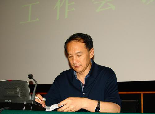 图文:中超委员会会议在香河召开 谢亚龙出席