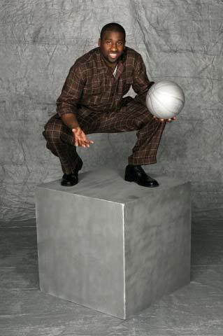 图文:NBA选秀开始 Raymond Felton面对镜头