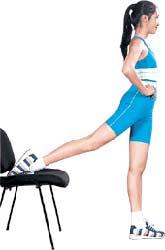 塑身:坐班OL的收腹细腰运动操