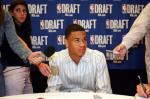 图文:NBA选秀大赛开始 Gerald Green回答提问