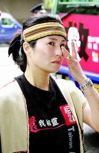 高金素梅:北京考学不想张扬