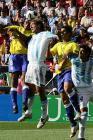 图文:世青赛阿根廷2-1巴西进决赛 技高一筹
