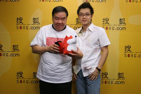 郑则士做客搜狐明星在线聊天实录