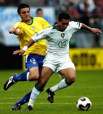 图文:巴西队获得第三名