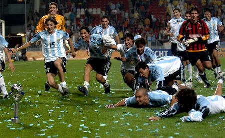 图文:阿根廷胜尼日利亚