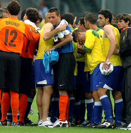 图文:巴西队获得季军