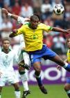 图文:巴西队获得第三名 双方争顶
