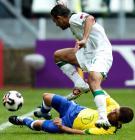图文:巴西队获得第三名 加布里埃尔