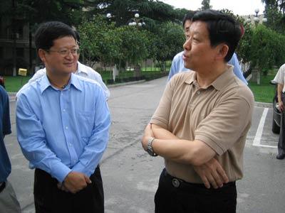 组图:陕西省长陈德铭等会见