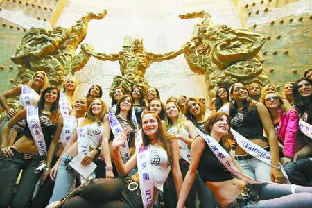 国际旅游小姐总决赛72%佳丽认为河南最好(图)