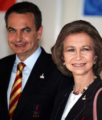 图文:马德里申奥 西班牙皇后与首相亲自出马