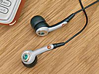 入耳式的耳机设置