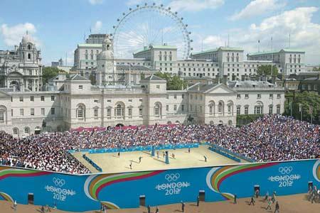图文:伦敦将举办2012奥运 沙滩排球举办场地