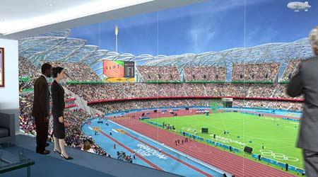 图文:伦敦将举办2012奥运 大型露天运动场馆