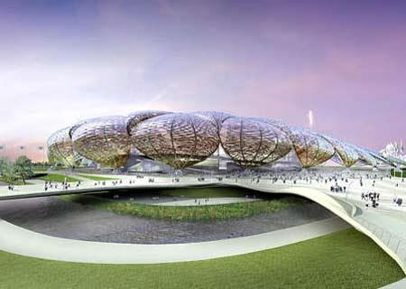 图文:伦敦将举办2012奥运 露天大型运动体育馆
