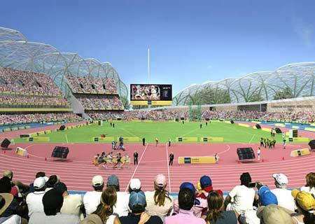 图文:伦敦将举办2012奥运 体育馆内景全揽