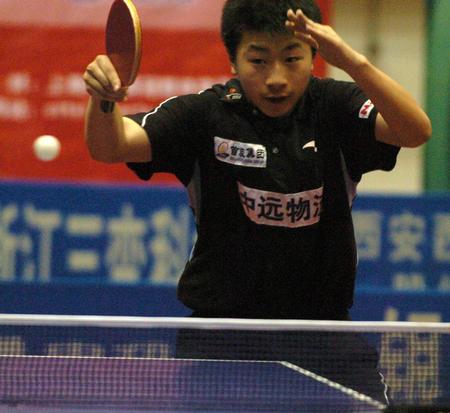 [体育](2)乒乓球�D�D乒超联赛:陕西银河国梁队胜北京首旅队