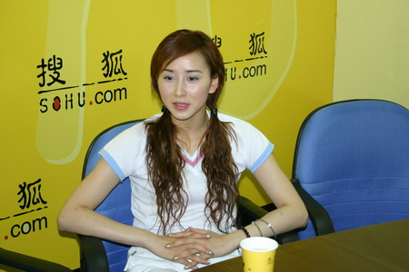 预告:美女野兽队员胡静7月12日14时做客搜狐