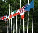 八国峰会降半旗