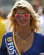 F1法国站女郎