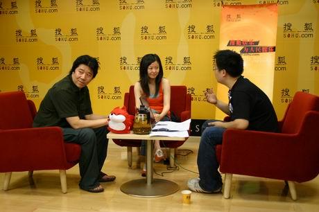 著名新锐导演孟京辉李虹做客明星在线谈电影