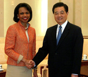Rice: US-China relations positive