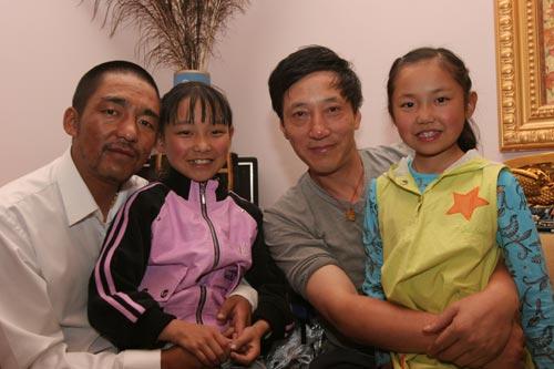美女野兽登山先遣队 西藏小女孩朗诵