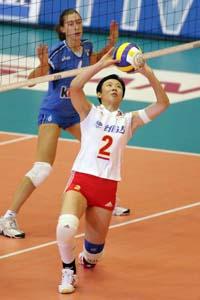女排大奖赛总决赛连败 中国0比3不敌克星意大利