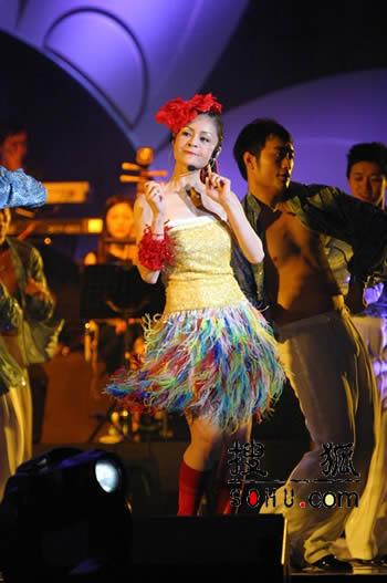 """图文:高胜美""""美不胜收""""北京演唱会现场-2"""