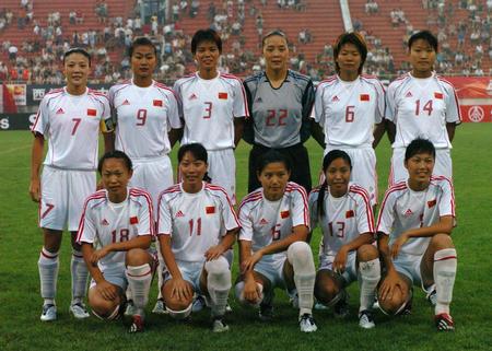 图文:中澳女足对抗赛