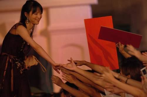 图文:《七剑》全球首映晚会-张静初