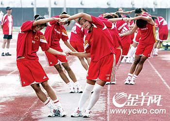 中国女足VS澳大利亚:发挥技术优势方能克敌(图)