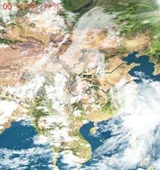 卫星云图,台风