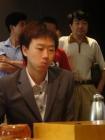 图文:中韩天元对抗赛 崔毒的表情很严肃
