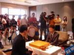图文:中韩天元对抗赛 各地媒体热情关注