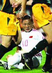 中国女足体能缺陷明显