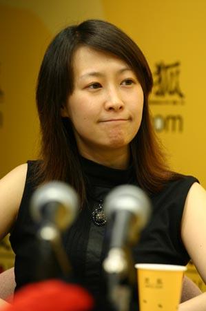 姜丽芬小江做客搜狐:希望每天都是电影半价