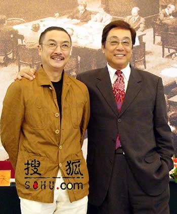 朱孝天林熙蕾亮相《远东国际大审判》(组图)