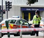 警方封锁Oval地铁站