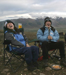 2005攀登启孜峰暨西藏公益行